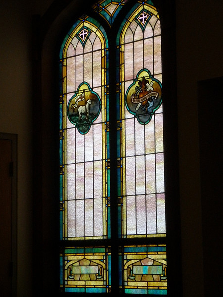 Stained glass windows - right side