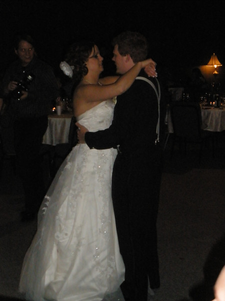 First dance - Katie and Jeffrey