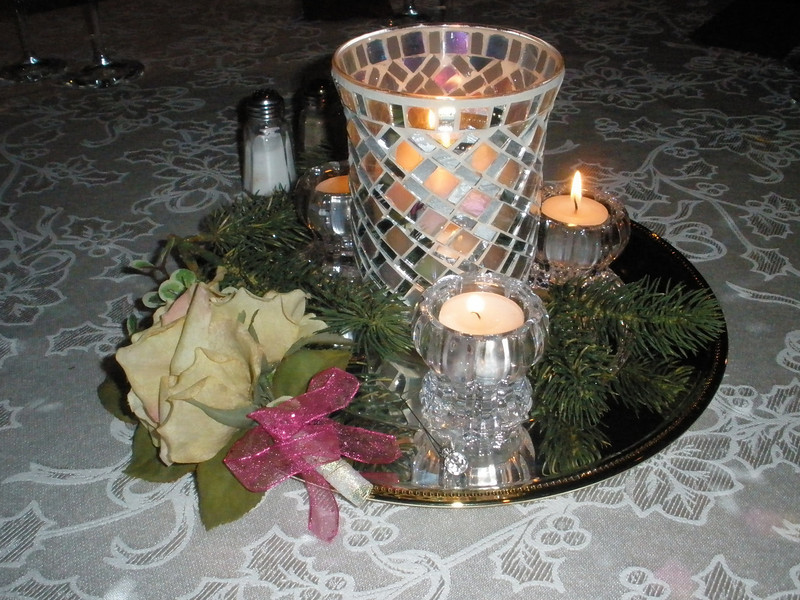 Table centerpiece by Marie