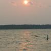 Sunset at Stony Point Resort - Cass Lake