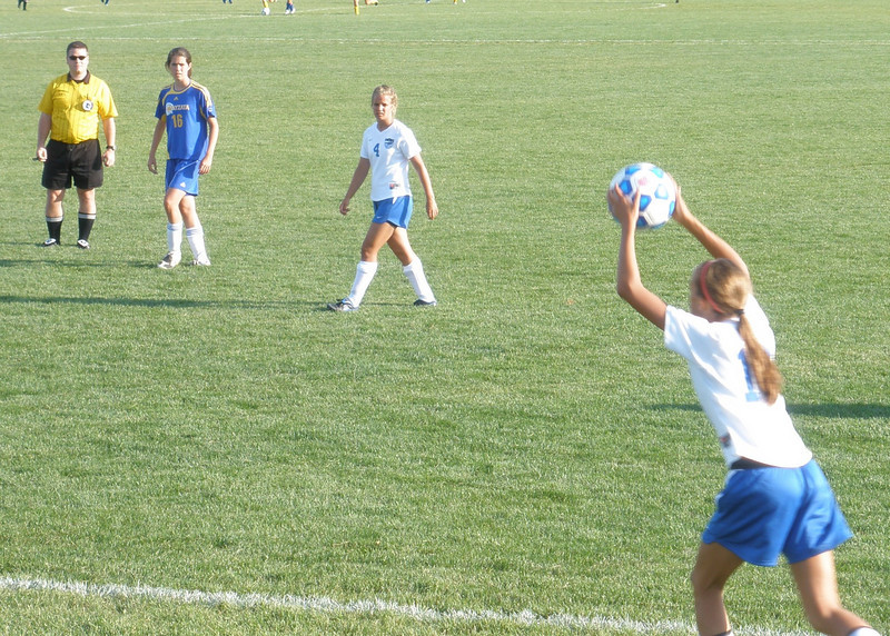 Ready for throw in Colie Winsor