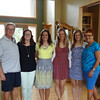 Grandparents Dwaine and Vadis with the Winsor babes - Katie, Colie, Kelly, Natalie
