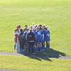 Team Huddle - start of game - at Orono