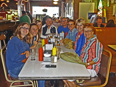 Katie, Kelly, Natalie, Doug, Dwaine, Colie, Julie, Vadis