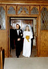 DOUG AND KAREN DUNCAN'S WEDDING<br /> St John's Episcopal Church, Fort Worth, Texas - January 22, 1972<br /> <br /> Here comes the bride! It's not that her father, Jim, looks unhappy or displeased with the whole affair, he just looked that way most of the time.