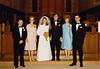 DOUG AND KAREN DUNCAN'S WEDDING<br /> St John's Episcopal Church, Fort Worth, Texas - January 22, 1972<br /> <br /> Jim and Anita Bullard, Karen and Doug Duncan, and Alfa Lou and Leonard Duncan