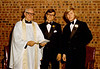 DOUG AND KAREN DUNCAN'S WEDDING<br /> St John's Episcopal Church, Fort Worth, Texas - January 22, 1972<br /> <br /> Father John R Leatherbury, Doug, and Doug's best man, Doy Ballard III