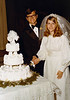 DOUG AND KAREN DUNCAN'S WEDDING<br /> St John's Episcopal Church, Fort Worth, Texas - January 22, 1972<br /> <br /> The cutting of the cake, for those of you unfamiliar with such things. Nice cake, and delicious, too.
