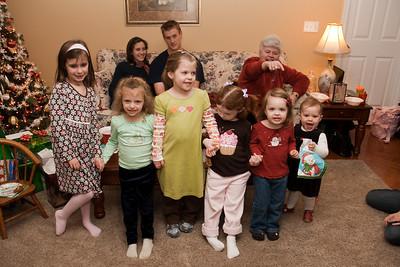 Ok, someone do jumping jacks to get everyone to look at the camera, or yell Santa?