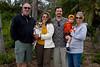 Tom, Juno, Mala, Eric, Donovan, and Izzy