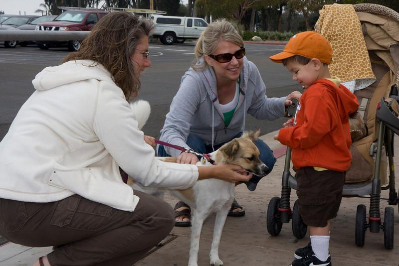 Izzy and Donovan meet Mala's new puppy, Juno.