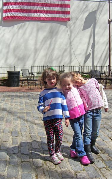 Hazel, cousins, Philadelphia