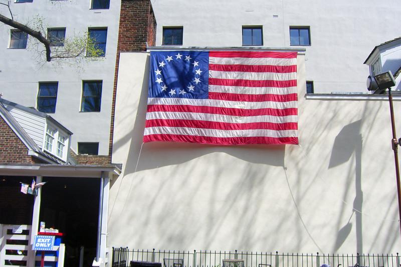 13-star flag, Philadelphia