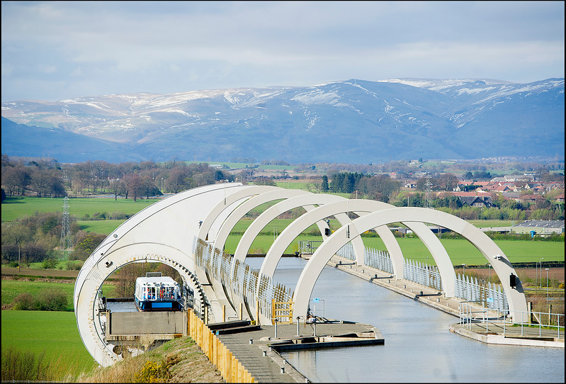 Falkirk Wheel general stock imagery.....