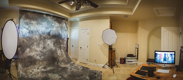Studio for Shawn McAdams Photography (Panoramic Composite)