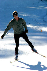 Here he is again.  He says it is faster than the traditional cross country skiing.