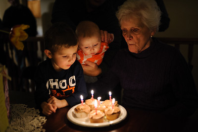 Duke, Finn, & Grandma 02.08.14