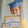 Proud of Her Diploma