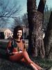 LYNDA DUNCAN IN THE PARK<br /> Dallas, Texas - 1965