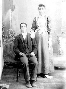 1894 c  - Calvin Madison and Beulah Miles Head