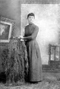 JOSEPHINE DODSON AT AGE 16 - 1890