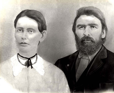 SARAH JANE CARROLL AND EBENEZER SMITH Sarah Jane Carroll was the oldest daughter of Nancy Boultinghouse and Daniel Carrol. Daniel was Nancy's first husband, who was murdered in Arkansas in 1851.