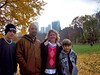 2009 - Donna Kay Duncan Sikes and her family in NYC