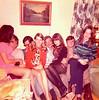 DOUG AND KAREN'S WEDDING PARTY<br /> The Bullard home, Ft Worth, Texas - January 1972<br /> <br /> Paula Ralston, Doy Ballard, Doug, Karen, Joe White, Sylvia, unknown, and Yvonne Gray