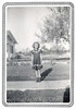 CAROL DUNCAN IN HER NEW DRESS - 1954