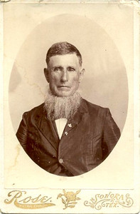 WILLIAM PINCKNEY DODSON (1825-1898) He could go out for the part of the preacher in the original version of Moby Dick.