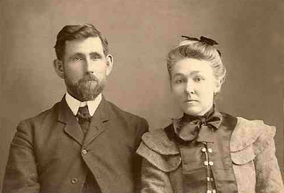 JOHN FREEMAN AND ALICE HASSELTINE CUMMINGS DODSON One of William Pinckney Dodson's sons and his wife