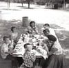 PICNIC AT THE ZOO<br /> Forest Park Zoo, Fort Worth, Texas - 1958<br /> <br /> Clockwise from far left: Carl, Rick, Carol, Dorothy, Diane, Linuel, Leonard, Alfa Lou, and Doug Duncan. Lyn must be taking the picture. Nice sun grins, Doug!
