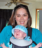VALERIE AND HUNTER MCLEAN - 2009<br /> Chad McLean's wife and young son