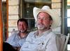 2004 Aug - Jose Fernandez and Scott Hightower at Pauly ranch, Lometa, TX