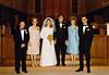 DOUG AND KAREN DUNCAN'S WEDDING<br /> St John's Episcopal Church, Fort Worth, Texas - January 22, 1972<br /> <br /> L to R: Jim Bullard, Anita Bullard, Karen Bullard Duncan, Doug Duncan, Alfa Lou Duncan and Leonard Duncan