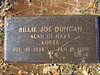 DUNCAN, BILLIE JOE<br /> Pleasant Grove Cemetery, Star, Texas