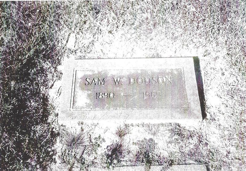DODSON, SAM W
