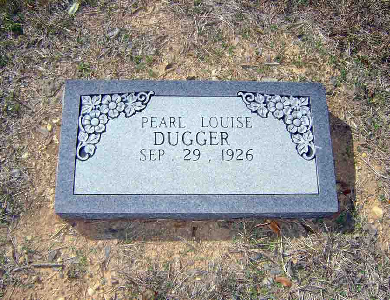 DUGGER, PEARL LOUISE MATHER [living]<br /> Mather Family Cemetery, Liberty Hill, Texas