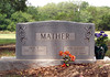 """MATHER, JACK PANCHO """"JACKIE"""" [living] and ADA LaVERNE (GRIFFIN)<br /> Mather Family Cemetery, Liberty Hill, Texas"""