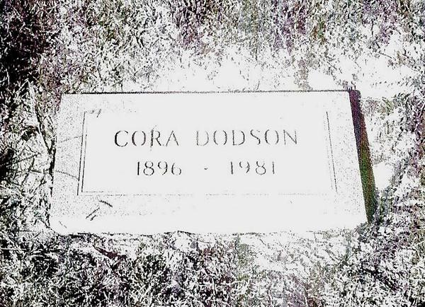 DODSON, CORA