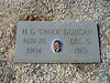 """DUNCAN, HENRY GRADY """"CHOCK""""<br /> Pleasant Grove Cemetery, Star, Texas"""