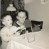 L. to R. Robert E Dungan and Ronald L Dungan 1957