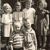 1st Grade, back L-R Dawn ? 3rd Mike Shimshea front row right Robert E Dungan 1958