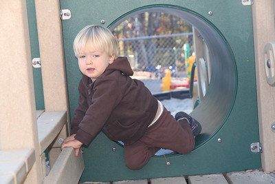 at the Preschool playground