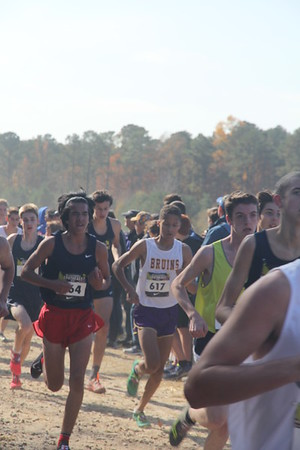 Edward IV in his cross country race (Bruins 617)