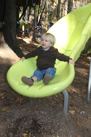 Elliot loves all the slides (he call them  whees)