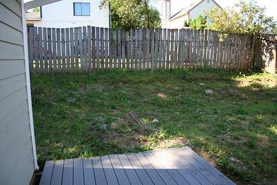 The Backyard deck