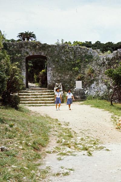 Castle Ruins - School Girls