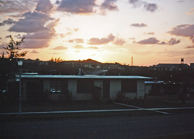 Military Housing - Sunset
