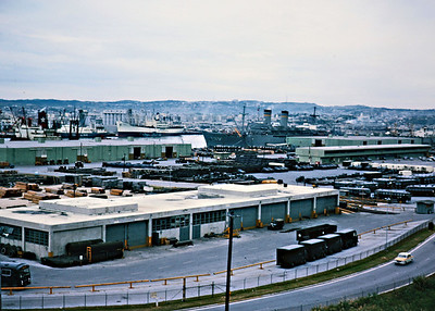 Naha Port - Main entry point for military supplies